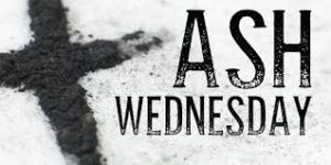Ash Wednesday Prayer Services at OLR
